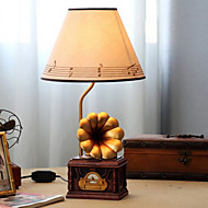 40W LED Gramophone Trumpet Notes Lampshade Dimming Small Table Lamp 220V