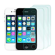 3Pack 0.33mm Tempered Glass Screen Protector with Microfiber Cloth  for iPhone 4 /4S