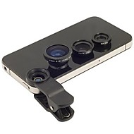 3-in-1 Fisheye Lens with Wide Angle and Macro Magnetic Photo Lens Kit Set for iPhone and Others