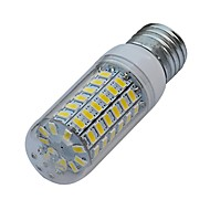 E26/E27 6 W 69 SMD 5630 480-540lm LM Warm White / Cool White T Corn Bulbs AC 220-240 V