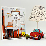 30W Vintage Countryside Style Mini Car LED Small Night Table Lamp 220V(Random Color)