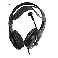 komc 8900 usb cablato stereo per cuffie con microfono per la musica