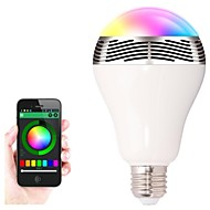 Smart Bluetooth LED Bulb And Light Bulb Speaker Can Control Seven Colors E27/B22 Screw Specification Connect With APP