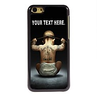 Personalized Case Boy Design Metal Case for iPhone 5C