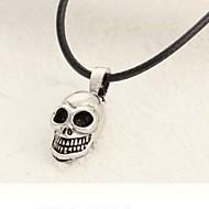 Férfi Nyaklánc medálok Titanium Acél Ötvözet Skull shape Ezüst Ékszerek Napi Hétköznapi Sport