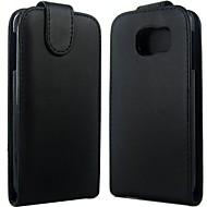 Pro Samsung Galaxy pouzdro Flip Carcasă Oboustranný Carcasă Jednobarevné PU kůže Samsung S6