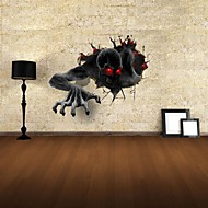 3Dウォールステッカーウォールステッカー、悪魔の装飾のビニールウォールステッカー