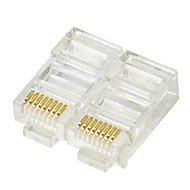 rete RJ45 a crimpare tappi 8p8c (20-pc set scatola al minuto)