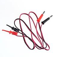 test çizgisi / muz fişler çevirmek Test kanca / 2 fiş kanca dönüş 2 (1 m kablo uzunluğu)
