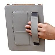 Helfarge/Sport og utendørs - Smart Covers/Folio Cases - Eple iPad 2/iPad 4/iPad 3 - ( Egte Lær , Rød/Svart/Brun/Rose )