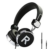 Headphones (Headband) - Проводной - Наушники - Наушники с оголовьем -  С микрофоном/DJ/Игры/Спортивный/Hi-Fi -Медиа-плеер/планшетный ПК/Мобильный