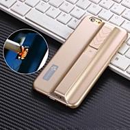 iPhone 6 Plus - Full Body hoesjes - Effen Kleur/Speciaal Design/Nieuwigheid (Zwart/Blauw/Roze/Grijs/Goud/Zilver , Plastic)