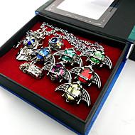 Biżuteria Zainspirowany przez Reborn! Cosplay Anime Akcesoria do Cosplay pierścień Srebrny Slitina Męskie / Damskie
