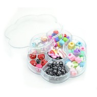 DIY Twistz Silicone Bandz Bracelets Pendant Ornaments and Colorful Beads Rainbow Color Loom Style