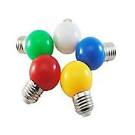 1 kpl ding yao E26/E27 3.0 W 1 SMD 5730 24 LM Kylmä valkoinen/Punainen/Sininen/Keltainen/Vihreä Pallolamput AC 220-240 V