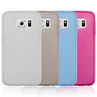 hhmm® effen kleur ultra dunne TPU soft cover voor de Samsung Galaxy s6 g9200