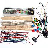 arduino için jenerik parça paketi breadboard güç kaynağı temel kiti