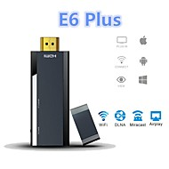 e6 más Miracast PTV dongle wifi tv stick 1080p hdmi reproductor multimedia con transmisión w / Miracast / DLNA / ventana / Airplay