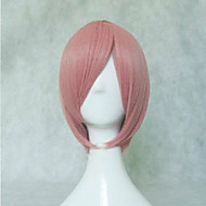 Pink Synthetic Hair Cosplay Wig Short Straight Animated Wigs Cartoon Wigs Party Wigs Full Wig