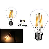 2 Stück ONDENN Dimmbar LED-Glühlampen A E26/E27 6 W 600 LM 2800-3200K K 6 COB Warmes Weiß AC 220-240/AC 110-130 V
