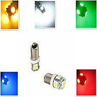 1 pcs ding yao BA9S 5W 5X SMD 5050 100-300LM Cool White/Red/Blue/Yellow/Green Decorative Decoration Light DC 12 V