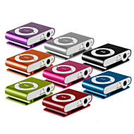 1-8GB Support Micro SD TF Fashion Mini Clip Metal USB MP3 Music Media Player