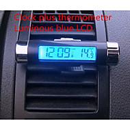 respiradouro carro clipe termômetro pulseira electrónica tela LCD luminoso