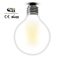 Lámparas LED de Filamento Regulable ONDENN A E26/E27 6 W 6 COB 600 LM Blanco Cálido AC 100-240/AC 110-130 V 1 pieza