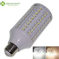 E26 20W 108x5050SMD 1600LM 3500K 6000K  Warm White/Cool White Light LED Corn Bulb AC85-265V