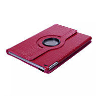 Solid Color/Crocodile Skin Pattern PU Leather 360⁰ Cases/Smart Covers iPad Air (Assorted Colors)