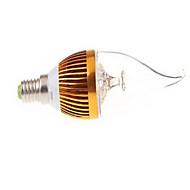 Luces LED en Vela dingyao E14 LED de Alta Potencia 450 LM Blanco Cálido / Blanco Fresco AC 85-265 V 1 pieza