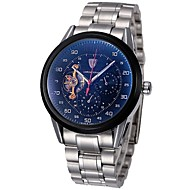 Men's Watch Automatic Mechanical Chronograph Tourbillon Clock Full Steel Hollow Wrist Watch 30M Waterproof