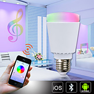 H+LUX™ LED A60 E27 11W 900lm Ra85 3000-6000K RGBCW Bluetooth  Control Color Changing Dimmable Smart Light Bulb AC85-265V