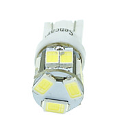 W5W T10 5w 11x5630smd 550lm // caliente blanco / amarillo blanco azul / fresco para luz de señal auto (DC12-16V)