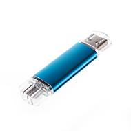 telefono / computer 1 gb alluminio disco di archiviazione flash pen drive usb (colori assortiti)