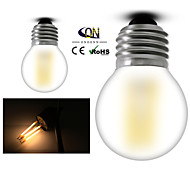 ONDENN E26/E27 4 W 4 COB 400 LM 2800-3200K K Warm White A Globe Bulbs AC 220-240/AC 110-130 V