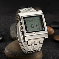 Men's Watch Dress Watch Calendar LED Alarm TV Remote Control Function Wrist Watch Cool Watch Unique Watch Fashion Watch