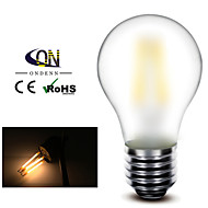 ONDENN E26/E27 6.5 W 6 COB 600 LM 2800-3200K K Warm White A Dimmable Globe Bulbs AC 220-240/AC 110-130 V