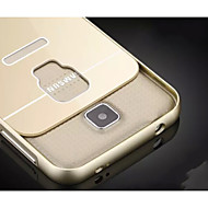 Special Design Solid Color Metal Back Cover and Bumper for Samsung Galaxy S5 I9600(Assorted Colors)