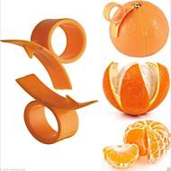 10pcs outil de cuisine d'orange doigt éplucheur tenue écorces d'agrumes ouvre
