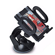 360 Degree Rotation Multifunction ABS Green Plastic Suction Cup Car Phone Holder for All Cars