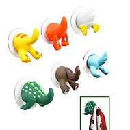 crtani životinja rep dizajn plastična kuka (slučajan odabir boje)