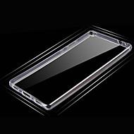 Fekete tok Ultra vékony Tömör szín TPU Mekano Tok HuaweiHuawei P8 / Huawei P8 Lite / Huawei P8 Max / Huawei Honor 4C / Huawei Mate 7 /