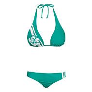 水泳 - ビキニ/二枚 ( ダークグリーン ) - 女性用