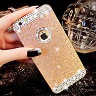 iPhone 5 / 5S用の背面の穴ダイヤモンドブリンブリンのグリッターカバーケース(アソートカラー)