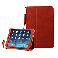 Acase compatible Solid Color Special Design Folio PU Leather Smart Covers with Kickstand for iPad mini1/2