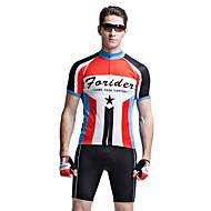 forider® manga curta ciclismo moto jersey roupas dos homens dos homens ternos, ternos e mito