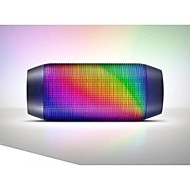 Braudel HOT Perfect Fashionable Colorful Lights Pulse Portable Bluetooth Speaker