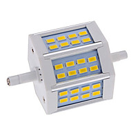 1 pcs Ding Yao R7S 10W 24X SMD 5730 660-750LM 2800-3500/6000-6500K Warm White/Cool White Recessed Lights AC 85-265V