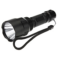Lampes Torches LED / Lampes de poche (Rechargeable / Tactique / diri) LED 5 Mode 200 Lumens Cree XR-E Q5 18650 -